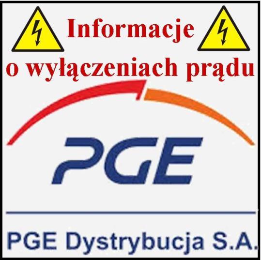 Informacja o planowych wyłączeniach prądu