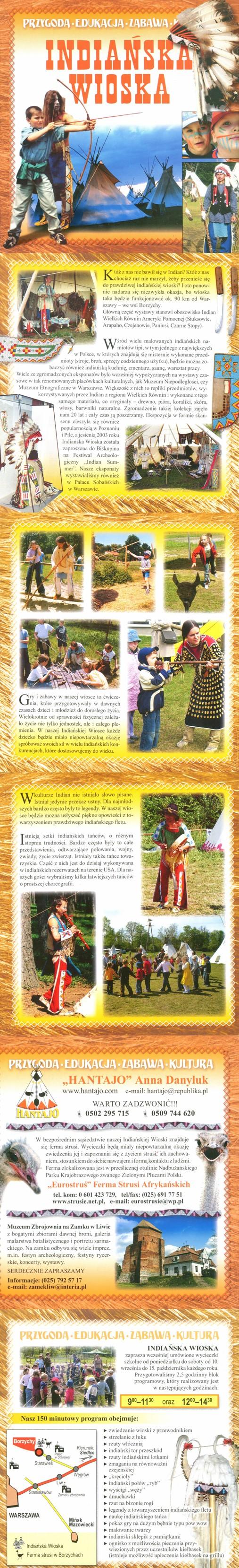 Folder Indiańska Wioska